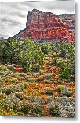 Sedona Arizona Mountain View - 02 Metal Print by Gregory Dyer