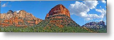 Sedona Arizona Panorama Metal Print by Gregory Dyer