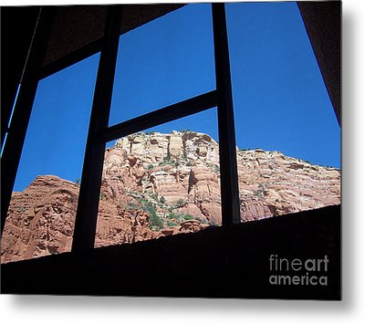 Metal Print featuring the photograph Sedona Chapel 4 by Tom Doud