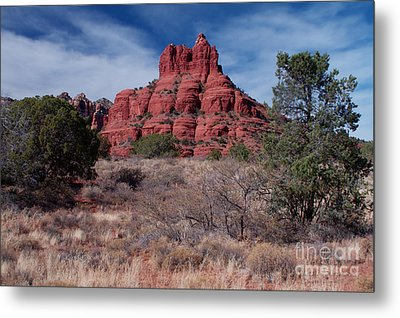 Sedona Red Rock Formations Metal Print