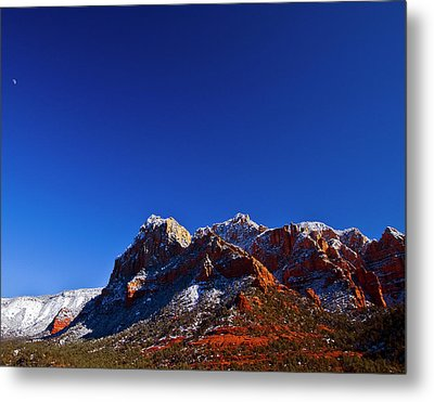 Metal Print featuring the photograph Sedona Winter by Tom Kelly