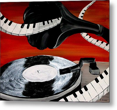 See The Song Metal Print