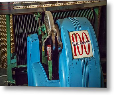 Seeburg Select-o-matic Jukebox Metal Print by Brian Wallace