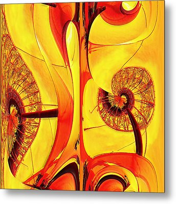 Seedlings Metal Print by Wendy J St Christopher