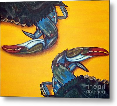 Seeing Double Metal Print by JoAnn Wheeler