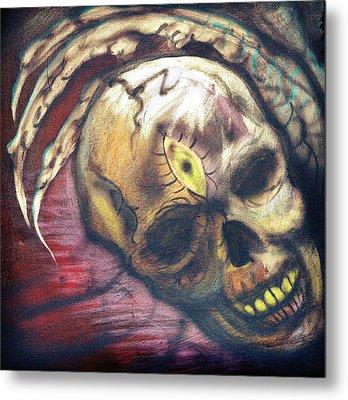 Seeing Is Believing Metal Print by Ryno Worm  Tattoos