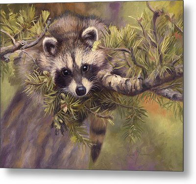 Seeking Mischief Metal Print by Lucie Bilodeau