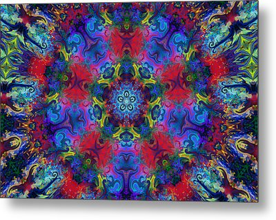 Seeking The Source Metal Print by Peggy Collins