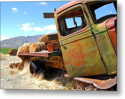 Seen Better Days Truck Metal Print by Tamyra Crossley