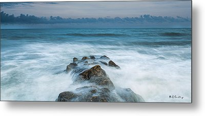 Seeping In Metal Print by Bill Cantey