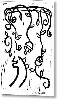 Sei Hei Ki With Flowers Metal Print by Lynn-Marie Gildersleeve