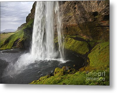 Selandsfoss In Iceland Metal Print
