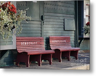 Selective Seating Metal Print