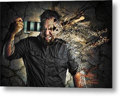 Self Doubt Metal Print by Joshua Minso