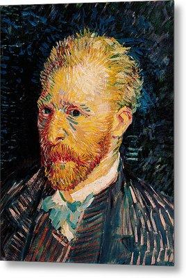 Self Portrait, 1887  Metal Print by Vincent van Gogh