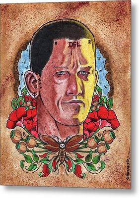 Self Portrait Metal Print by David Shumate