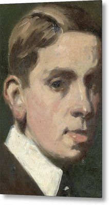 Self Portrait Metal Print by Francis Campbell Boileau Cadell