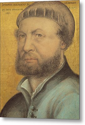 Self Portrait Metal Print by Hans Holbein