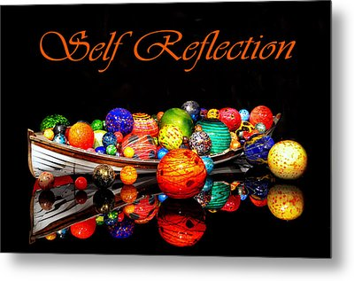 Self Reflection Metal Print by Kelly Reber