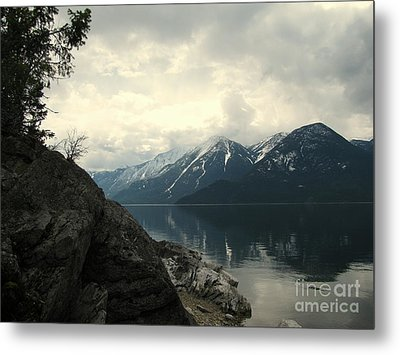 Selkirks In The Spring Metal Print by Leone Lund