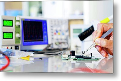 Semiconductor Metal Print