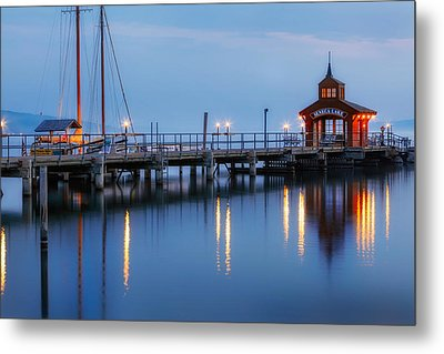 Seneca Lake Metal Print by Bill Wakeley