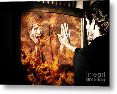 Senses Fail The Lost Touch Of Humanity Metal Print by Jorgo Photography - Wall Art Gallery