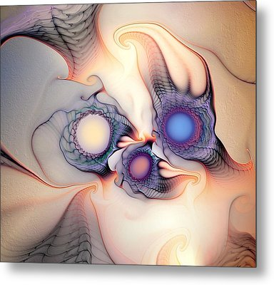 Metal Print featuring the digital art Sensorial Nirvana by Casey Kotas