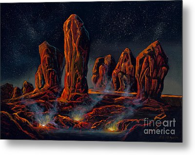 Sentinel Conclave Metal Print