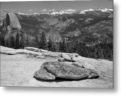 Sentinel Dome Metal Print by Stephen  Vecchiotti