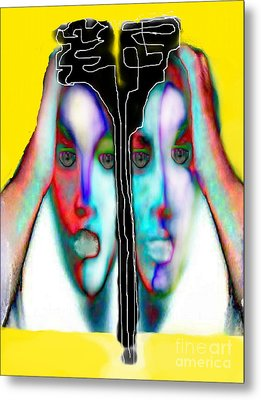 Separation Anxiety Metal Print by Rc Rcd
