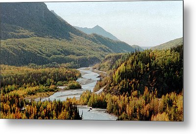 September Morning In Alaska Metal Print