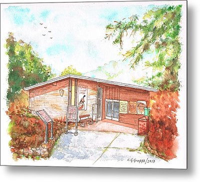 Sequoia National Park - Foothills Visitor Center - Califoernia Metal Print by Carlos G Groppa