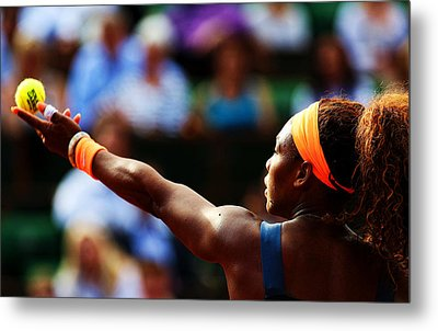 Serena Williams Metal Print