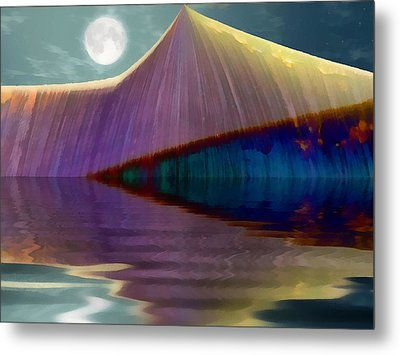 Serendipity By Moonlight Metal Print by Wendy J St Christopher