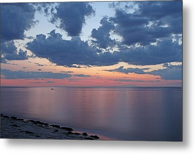 Serene Cape Cod Bay Metal Print by Juergen Roth
