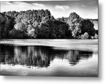 Serene Reflection Metal Print by Jay Harrison