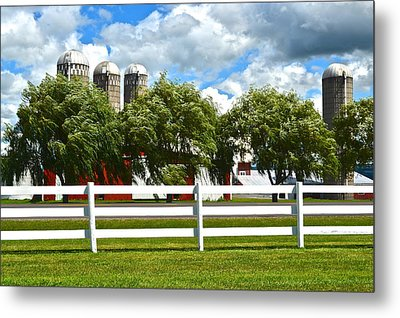Serene Surroundings Metal Print by Frozen in Time Fine Art Photography