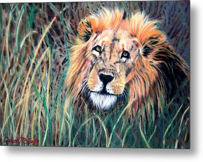 Serengeti Ruler Metal Print