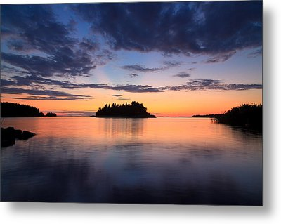 Serenity After The Sunset Metal Print