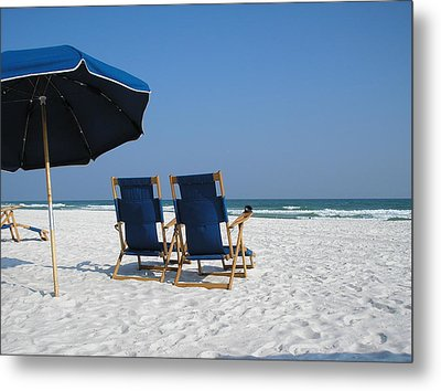 Metal Print featuring the photograph Serenity by Alan Lakin