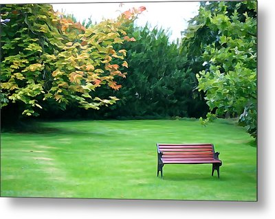 Metal Print featuring the photograph Serenity by Charlie and Norma Brock