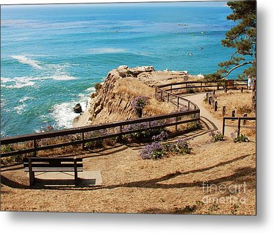 A Place To Relax Metal Print by Claudia Ellis
