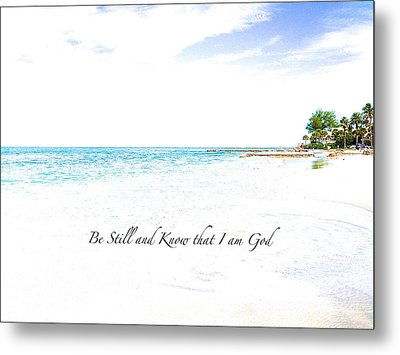 Metal Print featuring the photograph Serenity  by Margie Amberge