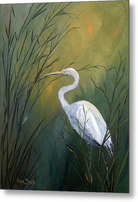 Metal Print featuring the painting Serenity by Suzanne Theis