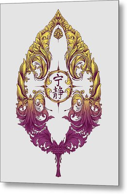 Serenity Victoriana Metal Print by Vincent Carrozza