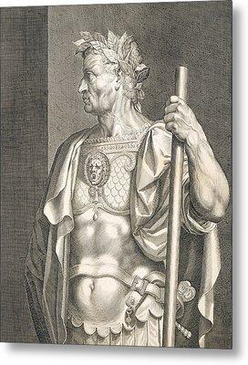 Sergius Galba Emperor Of Rome  Metal Print by Titian
