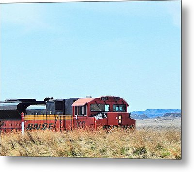 Serious Workhorses Metal Print