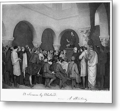 Sermon By Abelard Metal Print by Granger