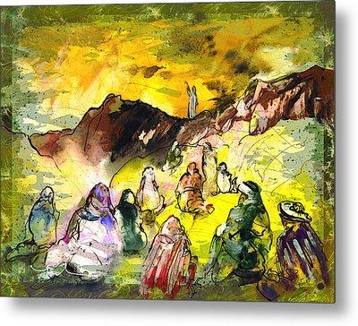 Sermon On Mount Sinai 02 Metal Print